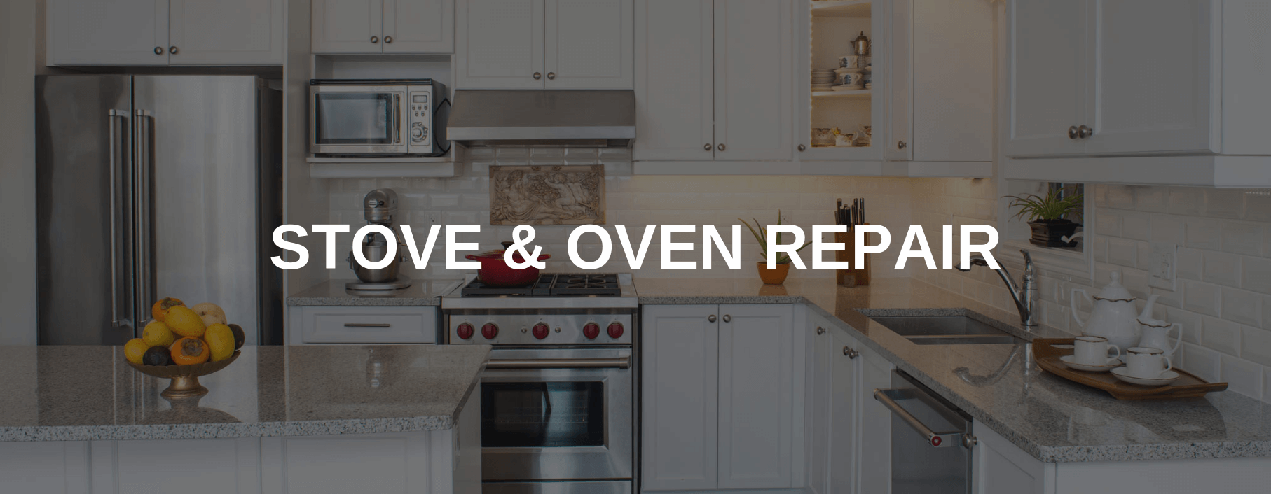 stove repair thornton